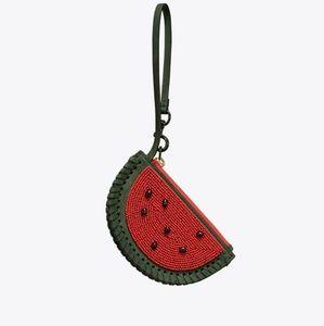 Tory Burch Watermelon coin purse